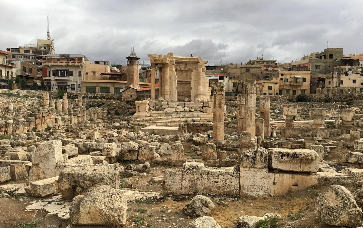 Baalbek Venuksen temppeli