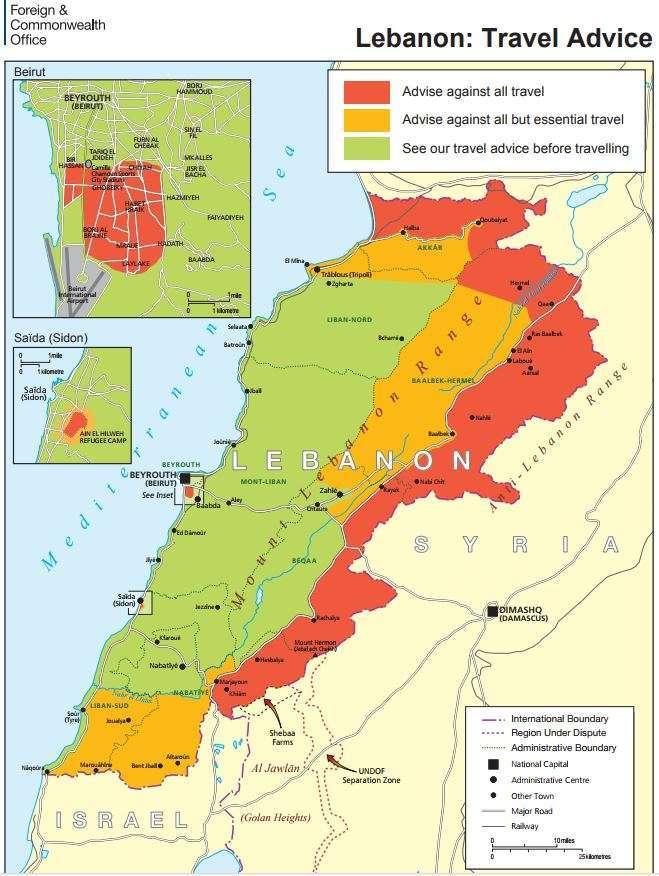 Lebanon UK