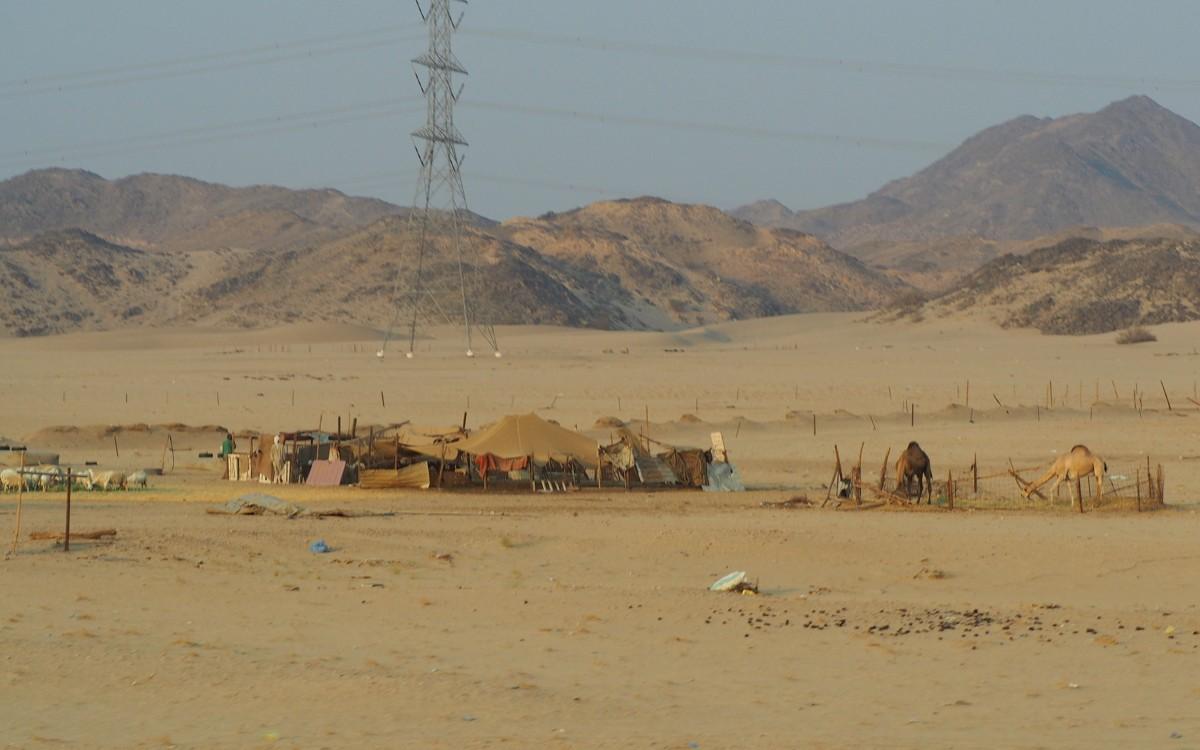 Jedda Taif tien varrella