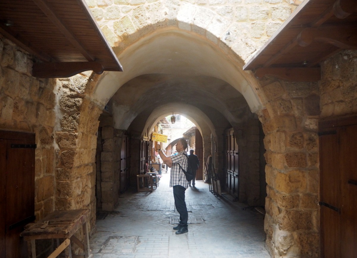 Libanon Sidon soukit