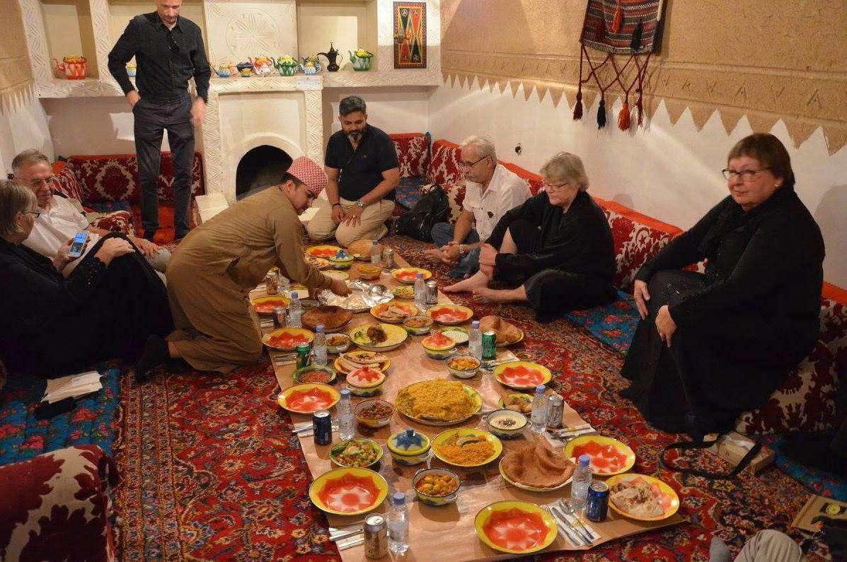 Lunch in Riad