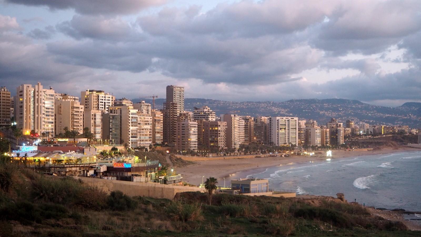 The Corniche Beirut Libanon
