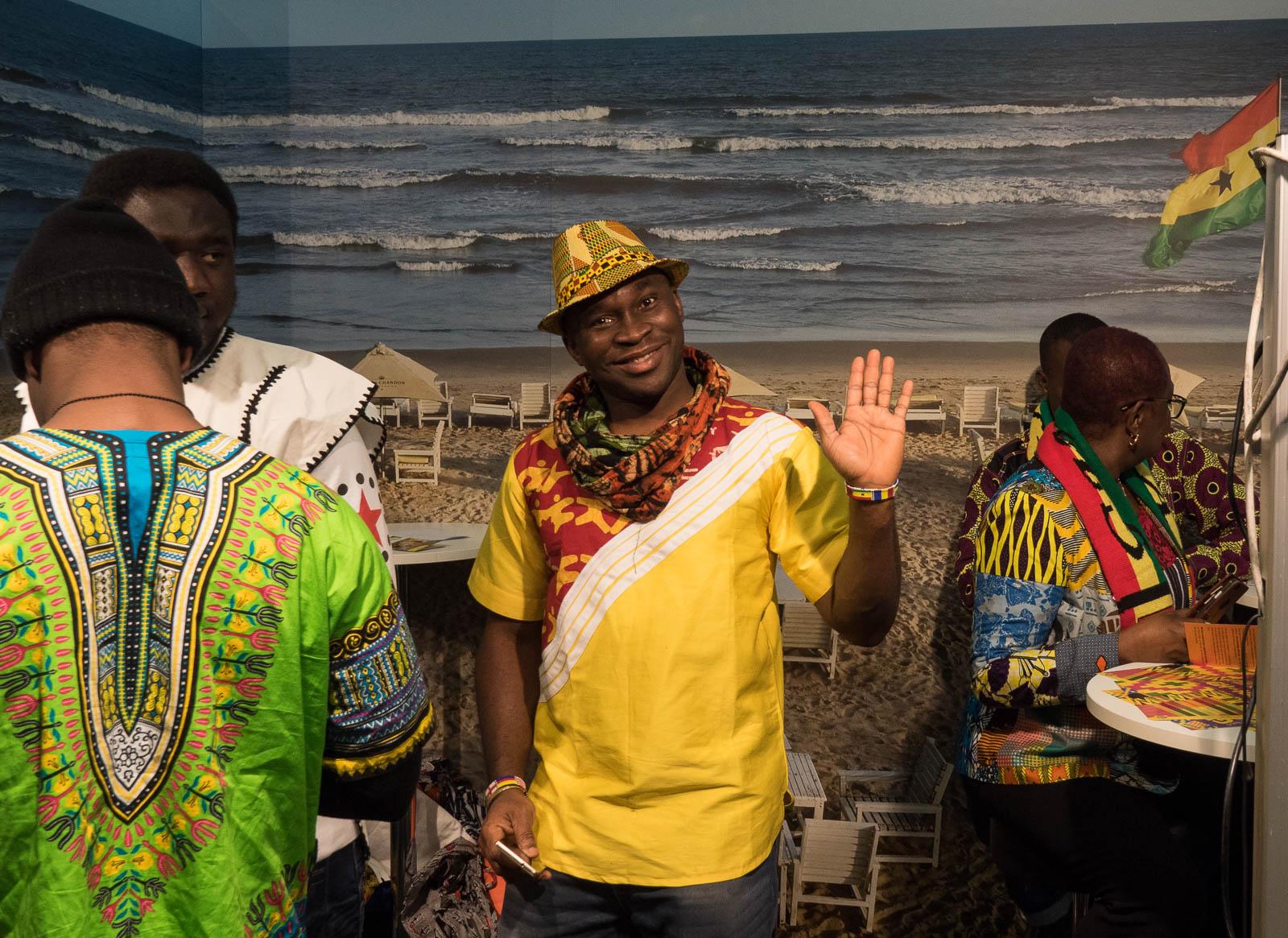 Ghana matkamessuilla 2018