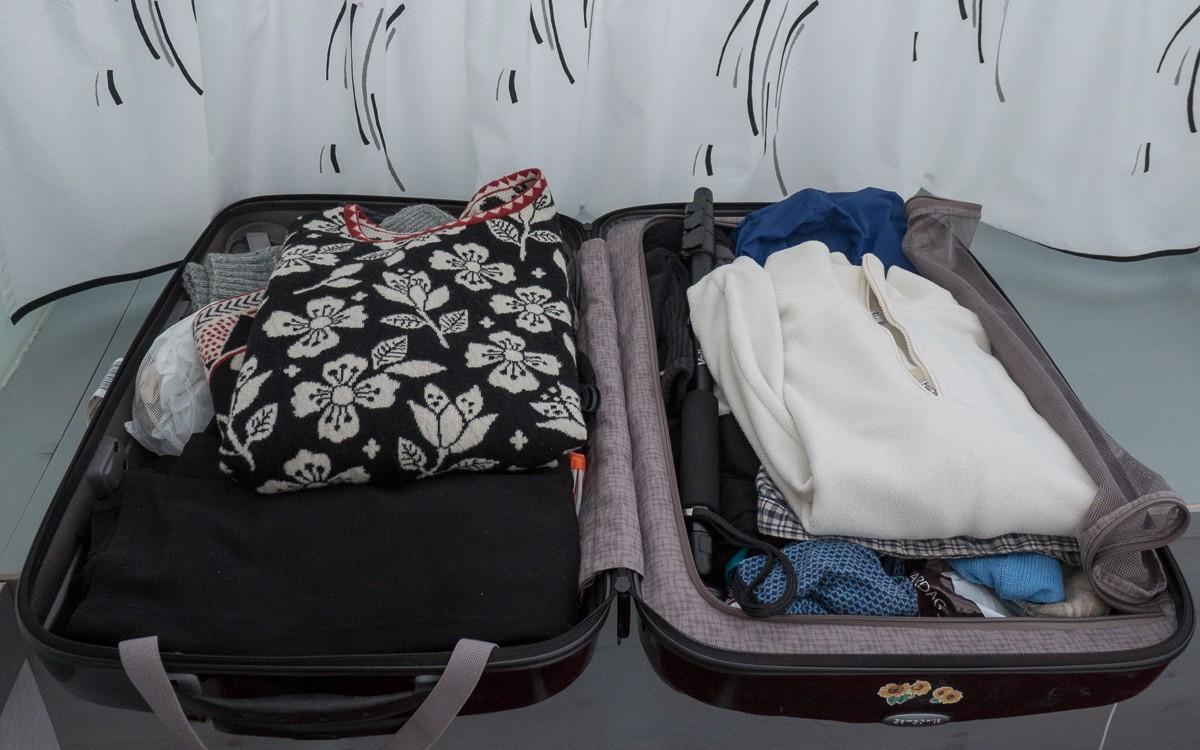Finnair matkalaukku Silverillä