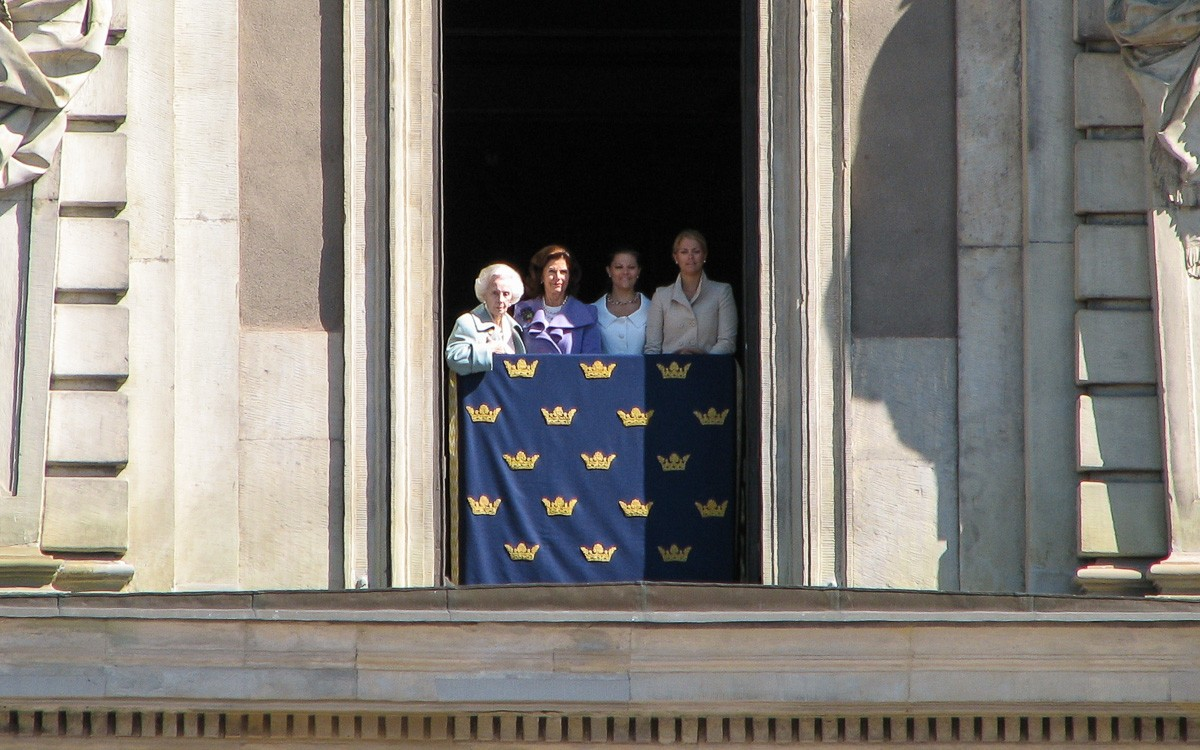 Kuninkaan synttäreillä Tukholmassa