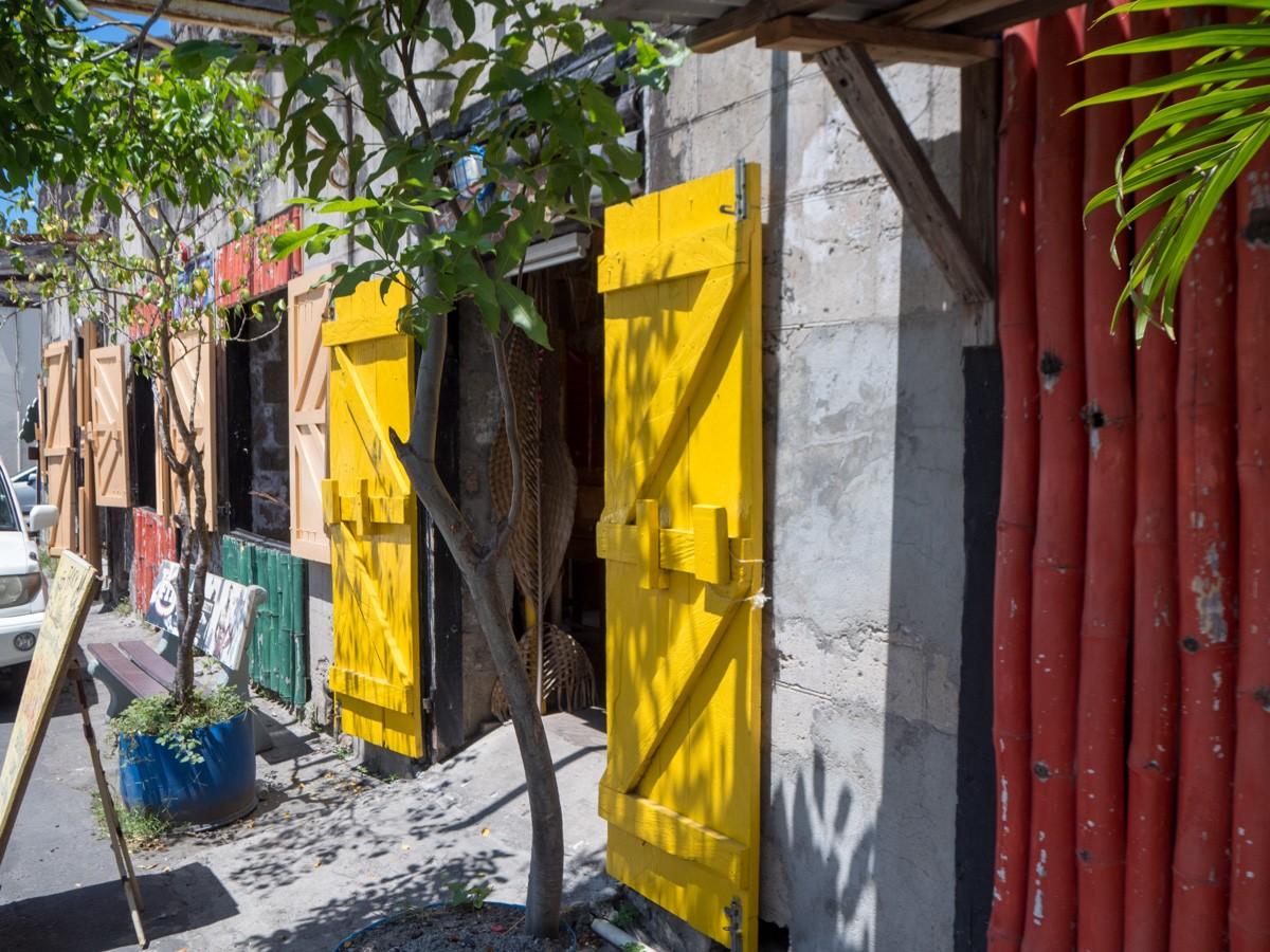 Ruins Rock Cafe Roseau Dominica