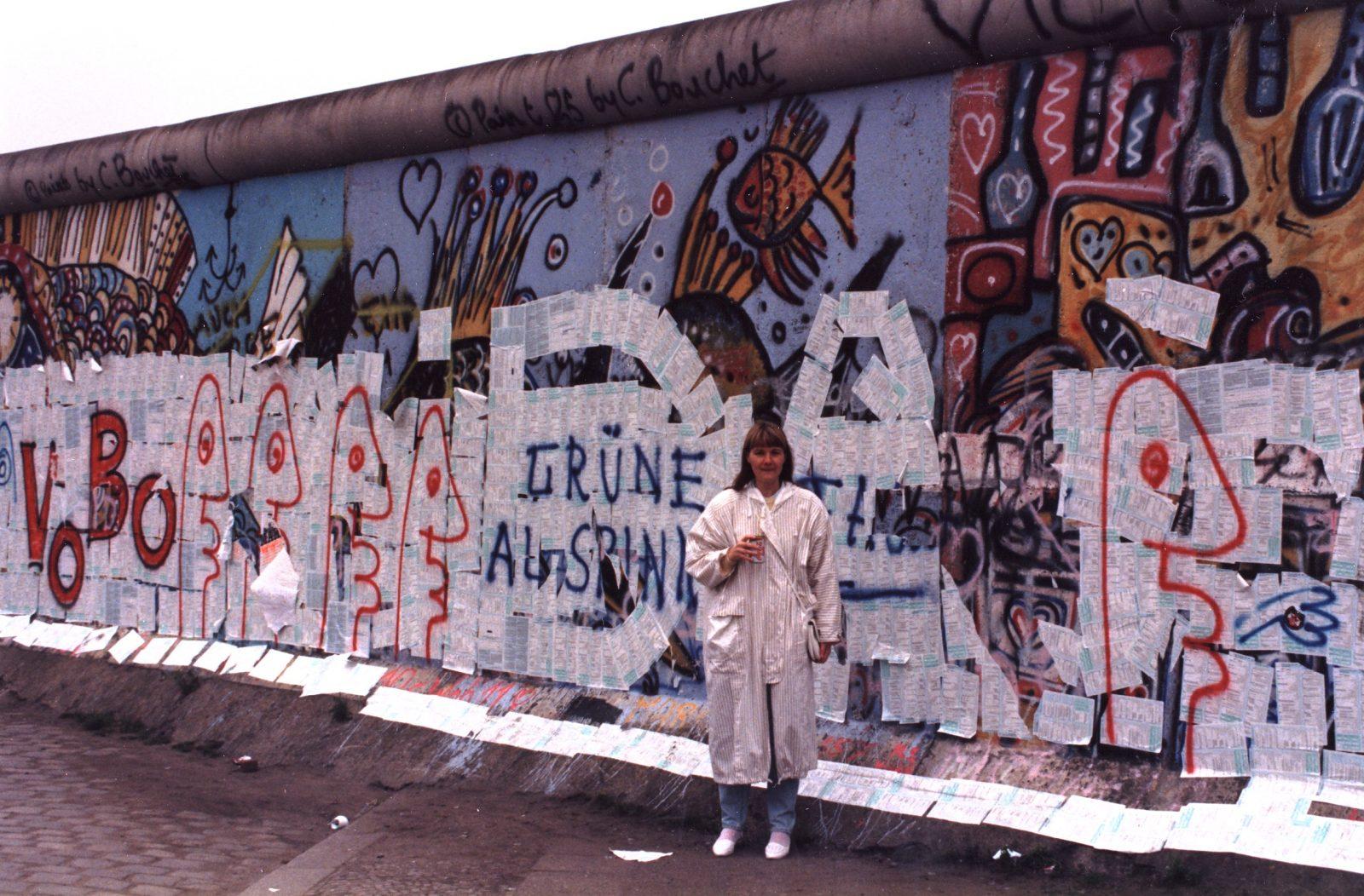 Berliinin muuri 1987 Saksa