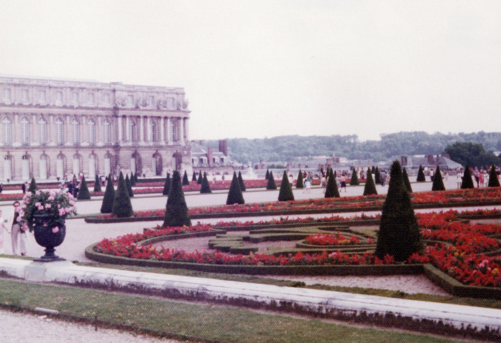 Versailles kesällä 1974