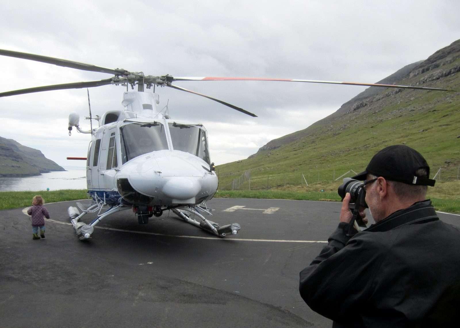 Färsaaret helikopteri
