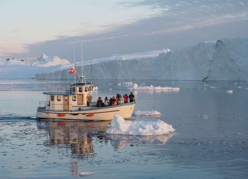 Grönlanti Ilulissat Uudet Unescon maailmanperintökohteet