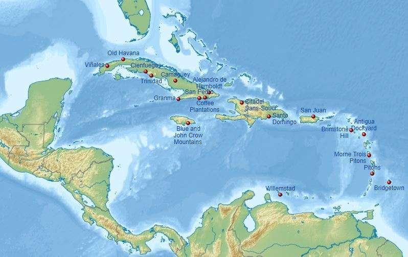 Unescoja Karibia saarihyppely osa 2