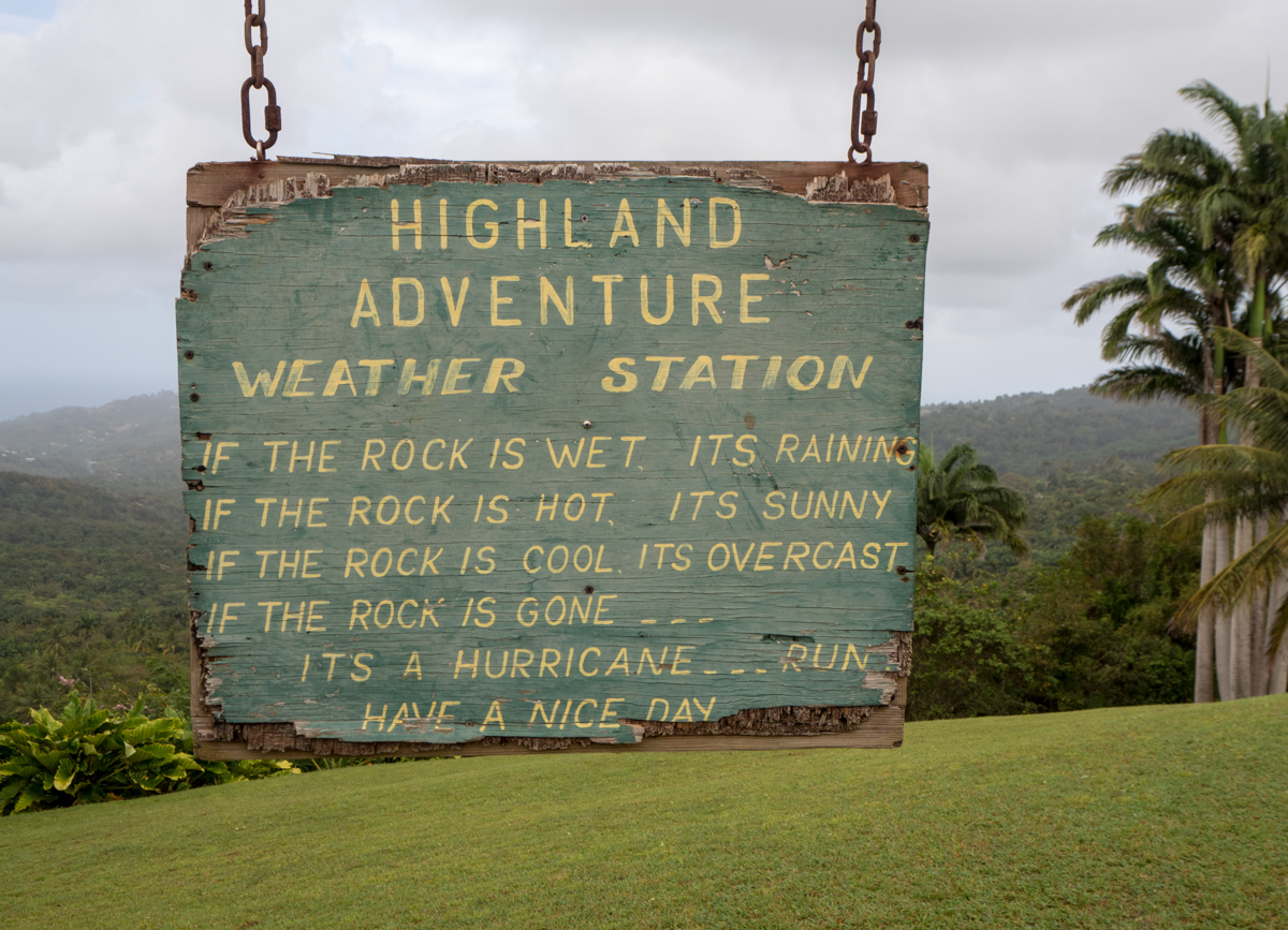 Barbados Mount Hillaby