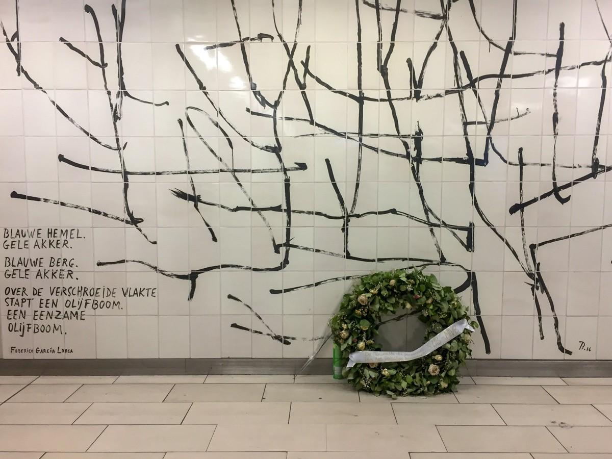 Bryssel metro Maalbeck