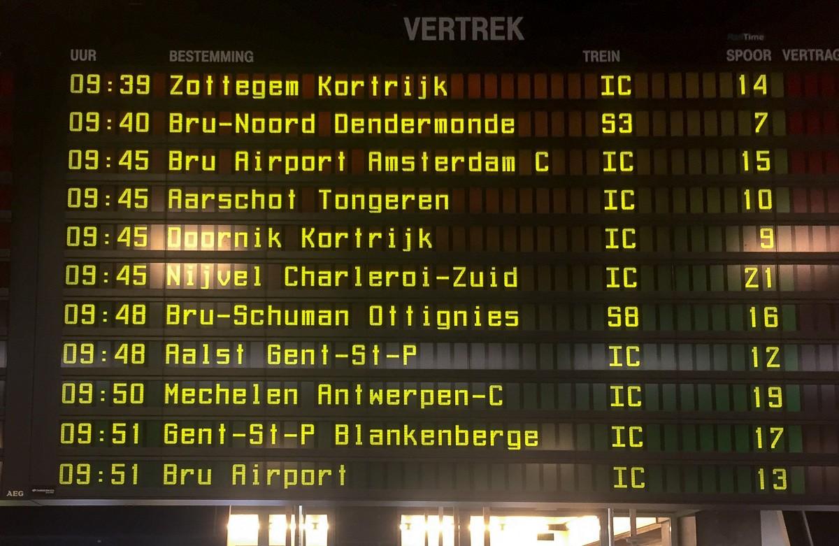 Lähdössä Brysselistä Amsterdam ja Bryssel kustannukset