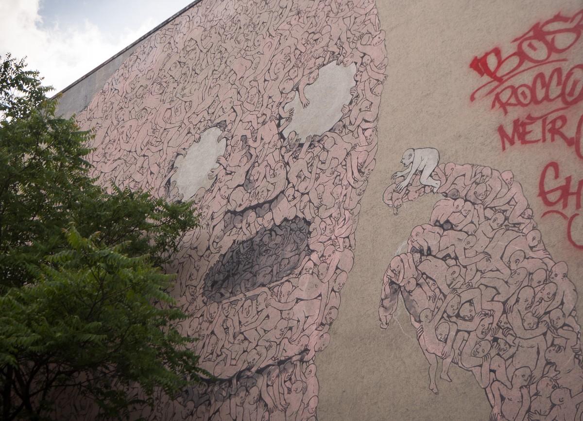 Berlin street art Backjump