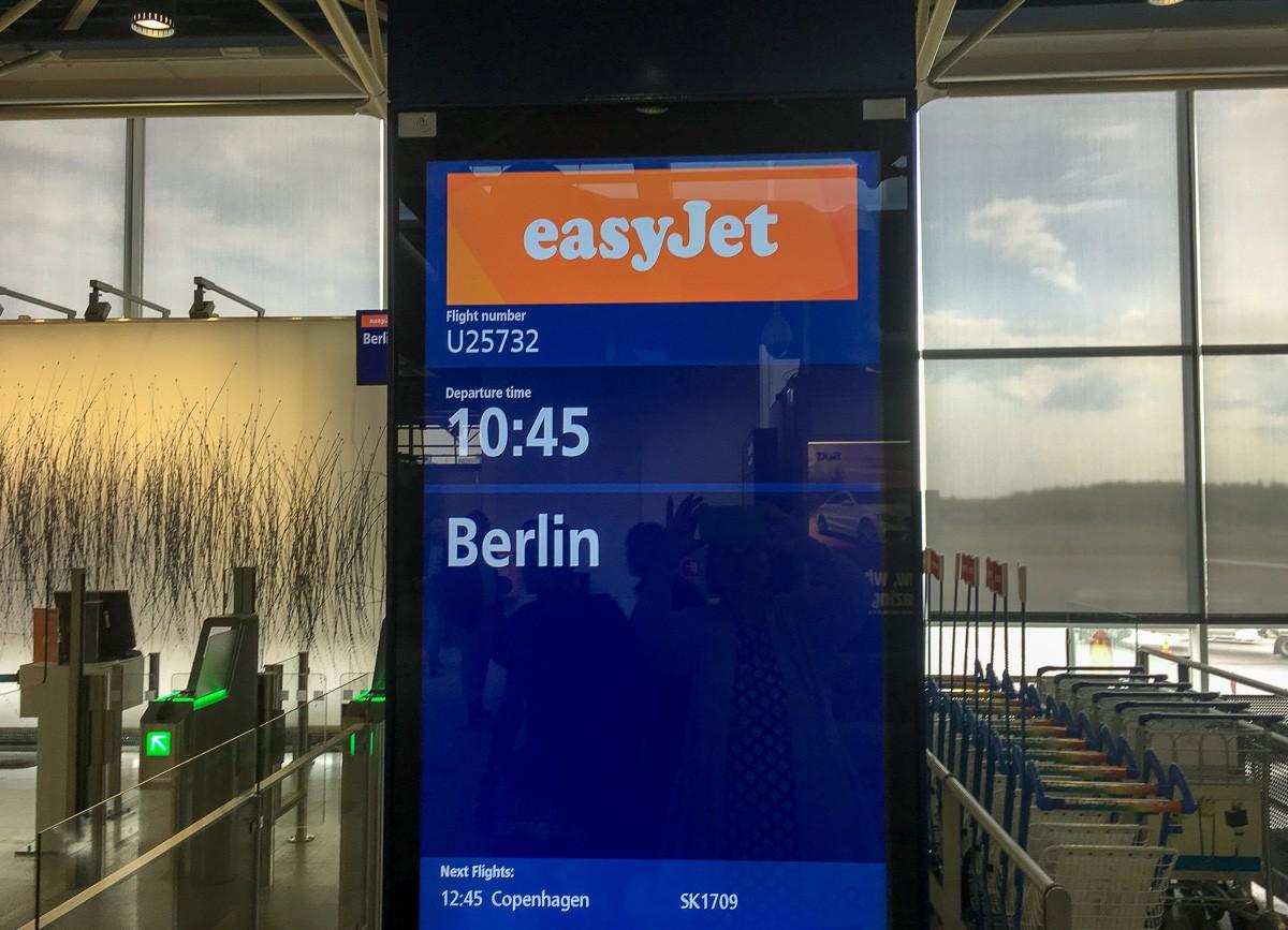 Easyjet Berliini kustannukset