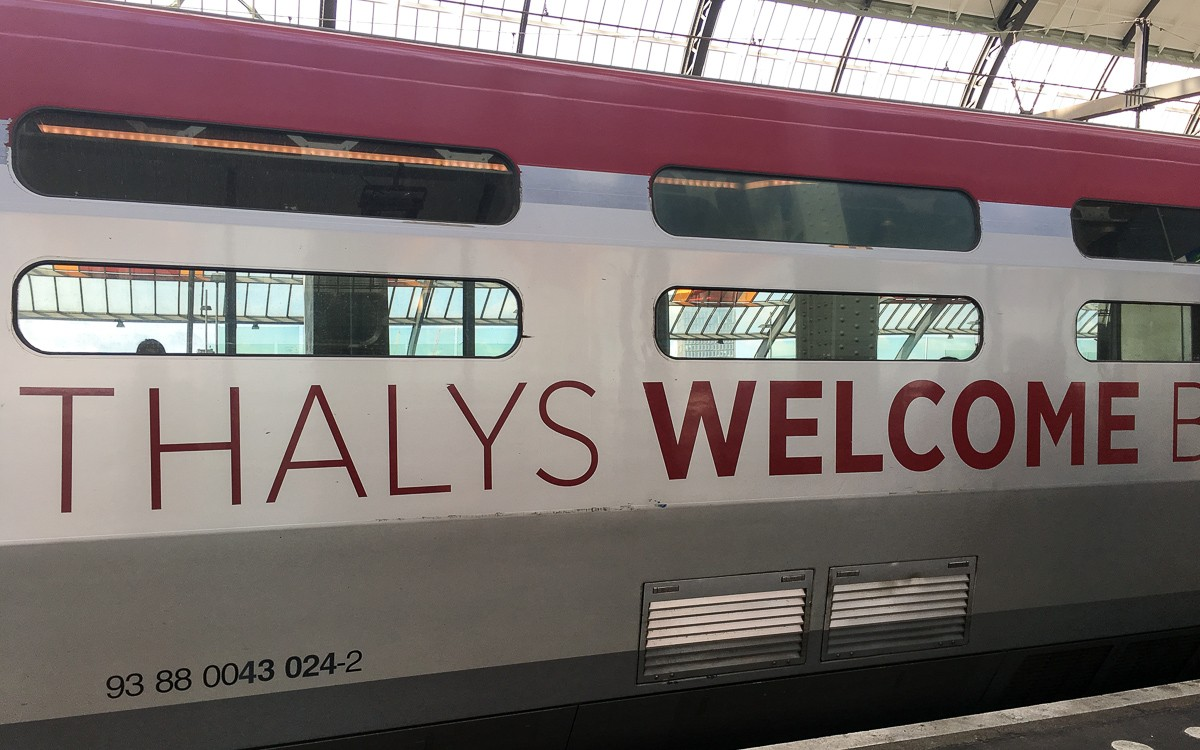 Thalys Amsterdam - Bryssel Amsterdam ja Bryssel kustannukset