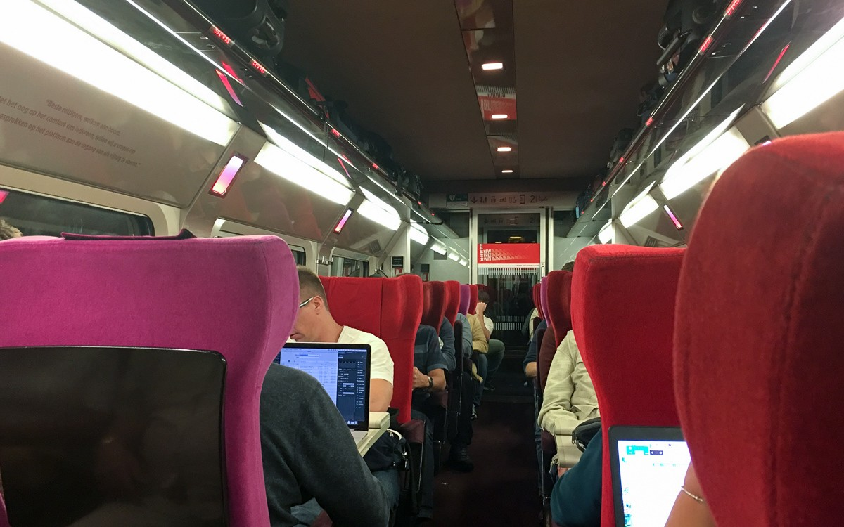 Thalys Amsterdam - Bryssel