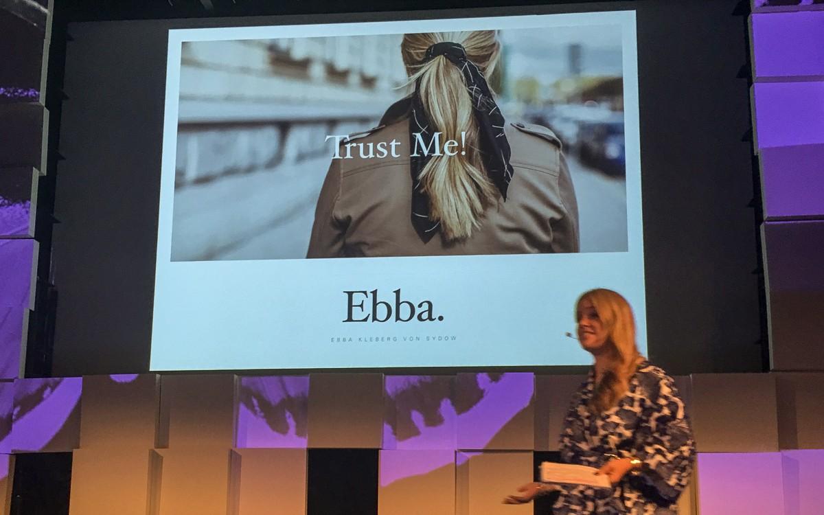 Ping Festival 2018 Ebba Kleberg von Sydow
