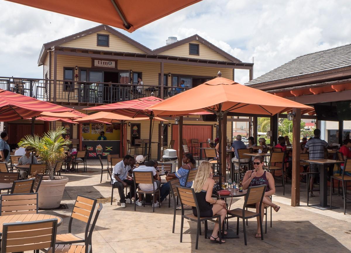 Saint Kitts ja Nevis Basseterre Foodcourt