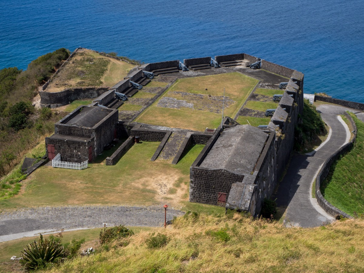 Brimstone Hill Saint Kitts