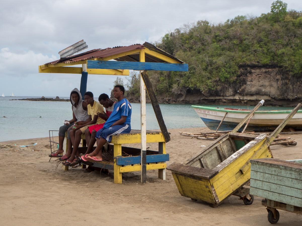 Anse La Raye Saint Lucia