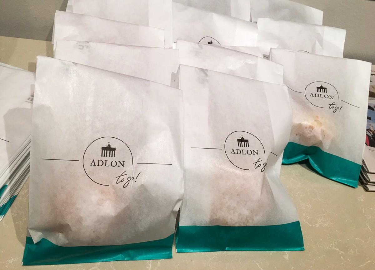 Hotel Adlon aamiainen