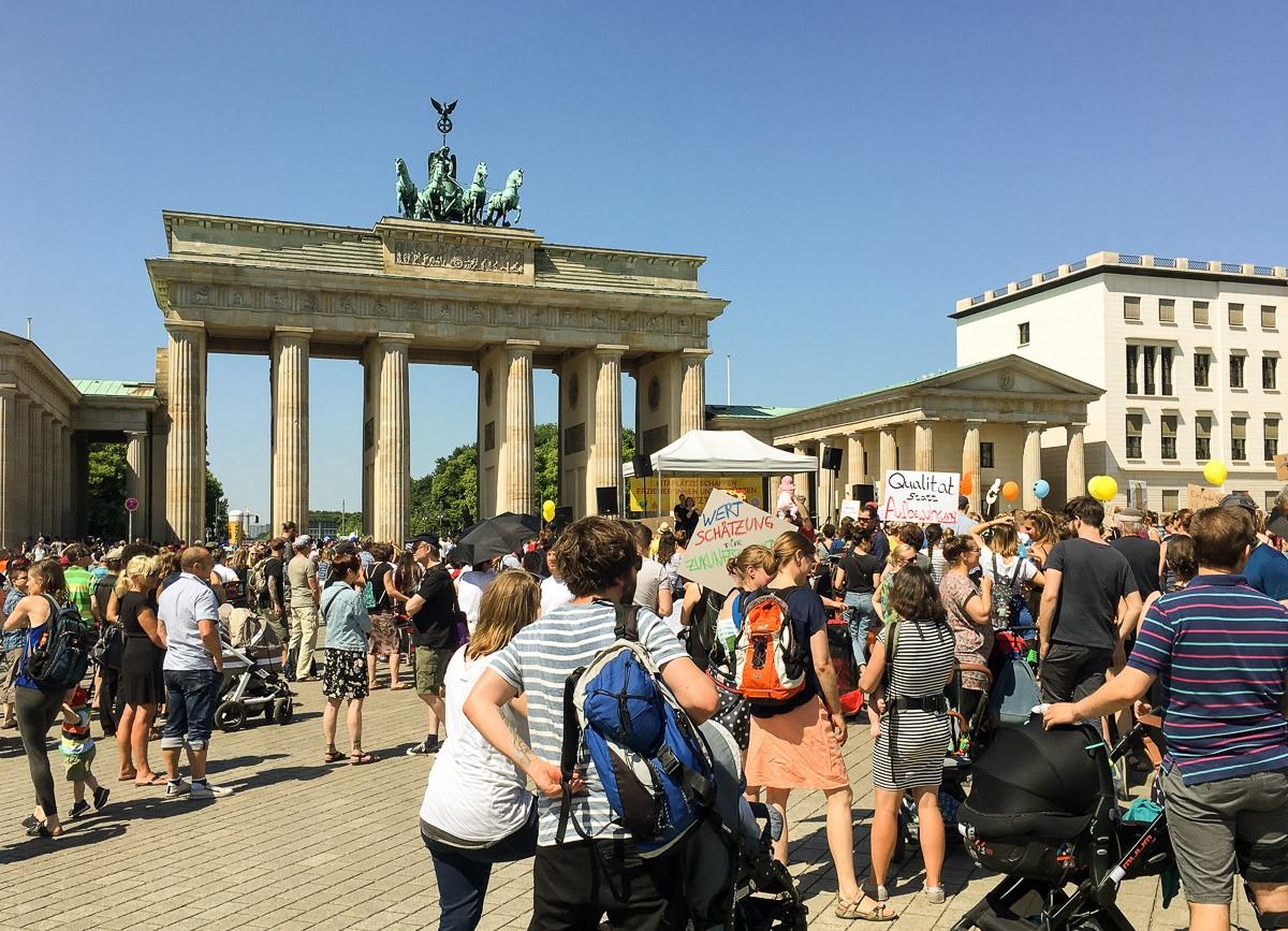 Berlin Brandenburgin portti