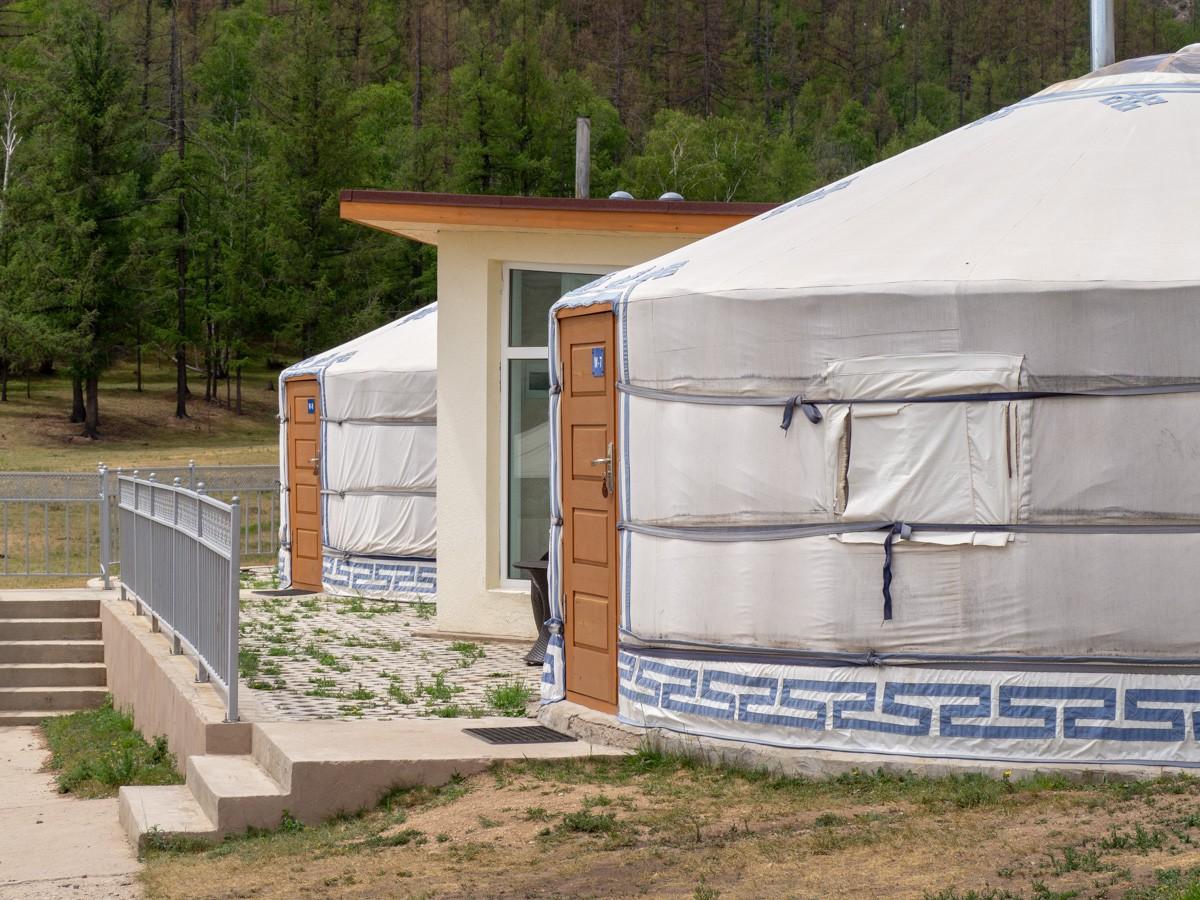 Terelj Lodge Asumuksena mongolialainen ger