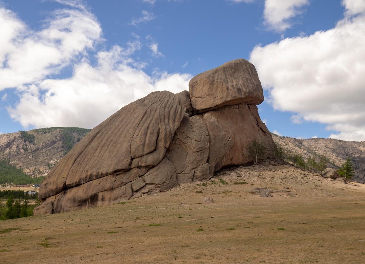 Terelj Mongolia Tereljin luonnonpuisto