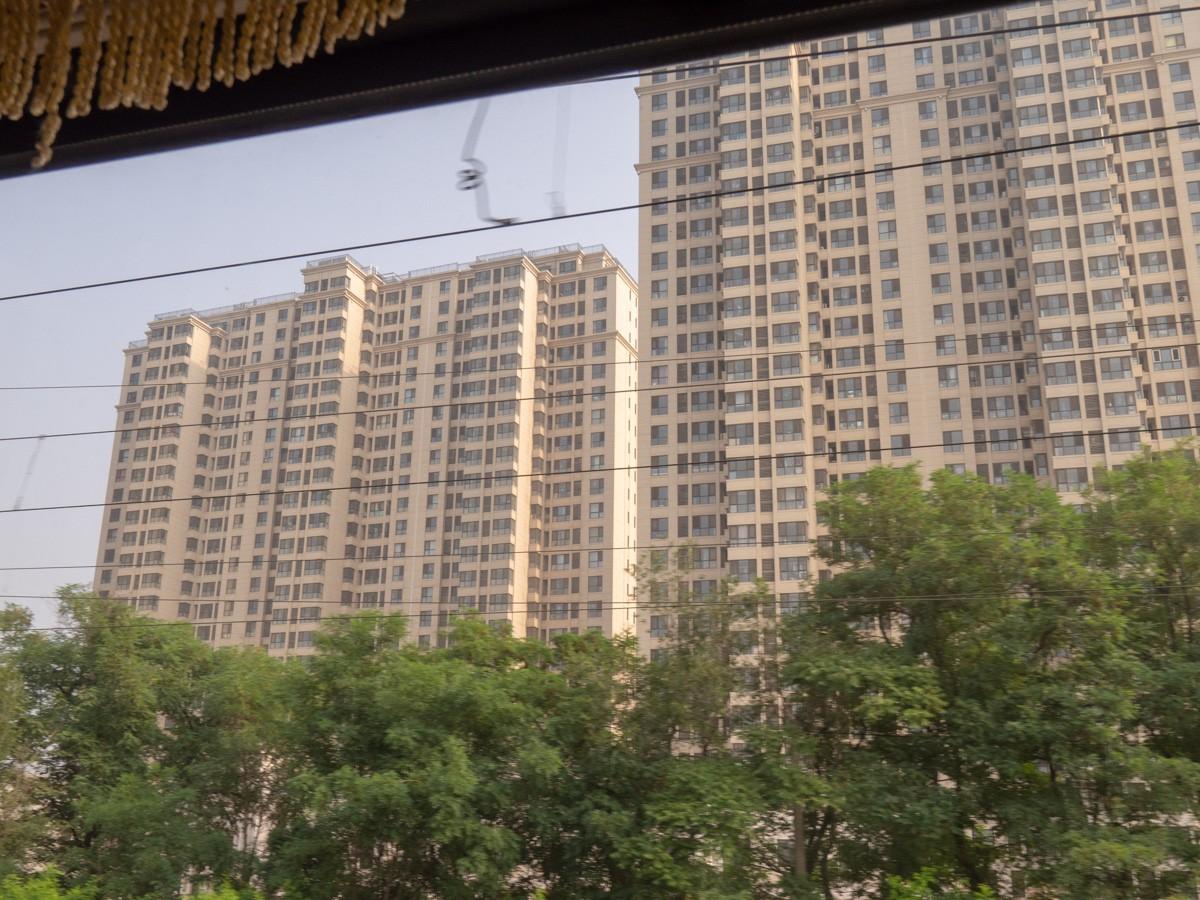 Peking - Ulan Bator maisemia matkan varrelta