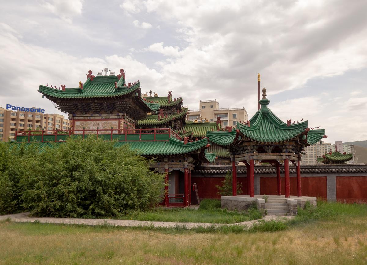 Bogd Khanin palatsimuseo Ulan Bator luostarit ja temppelit
