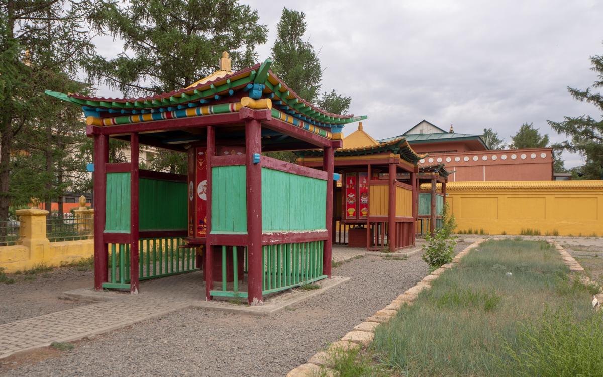 Ulan Bator Mongolia Gandan Ulan Bator luostarit ja temppelit