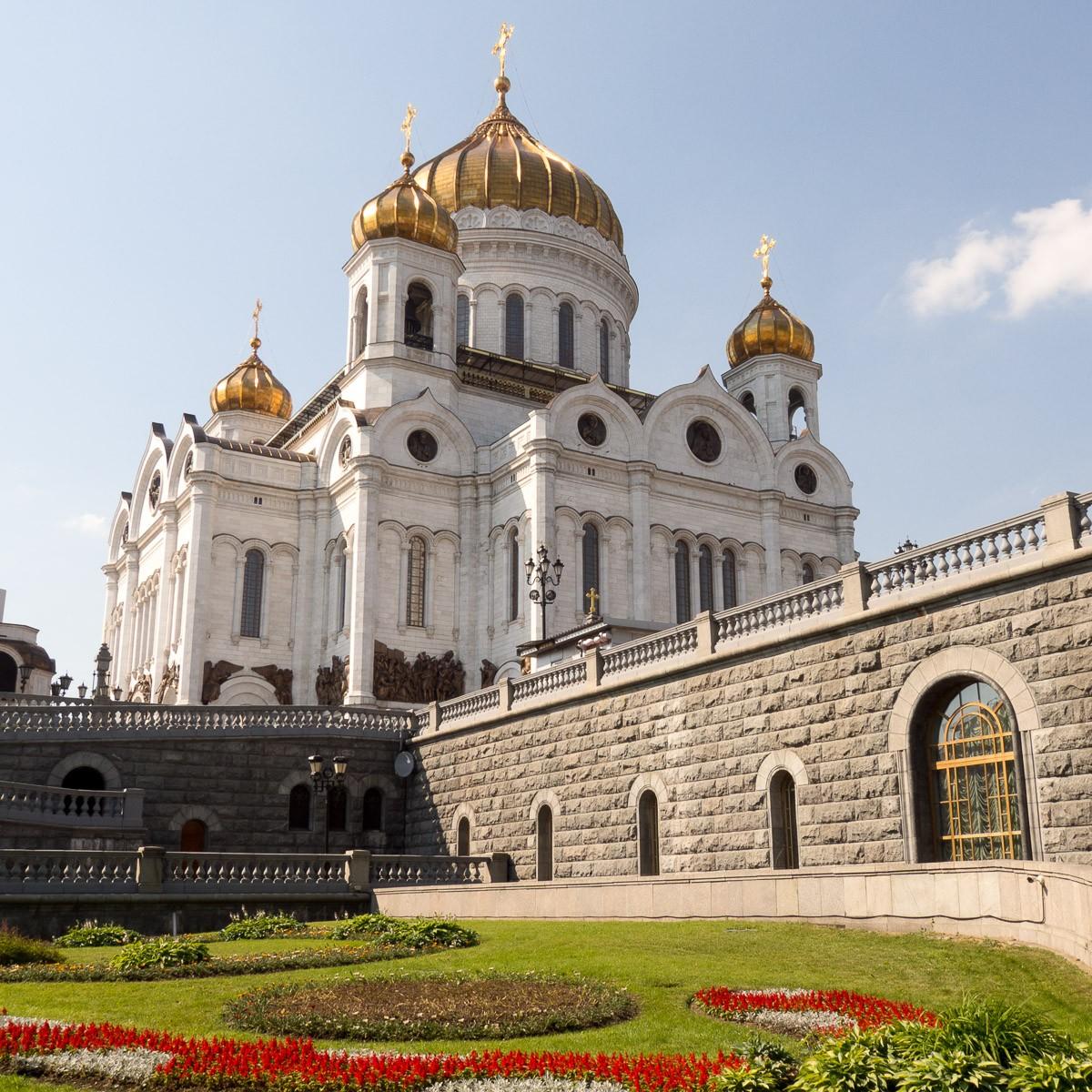 Moskova Christ the Saviour Moskovan nähtävyydet