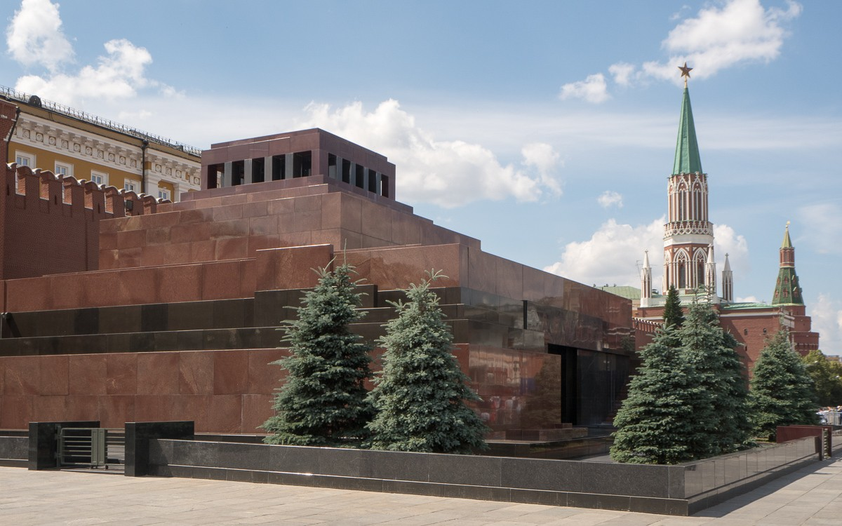 Lenin mausoleumi Moskova