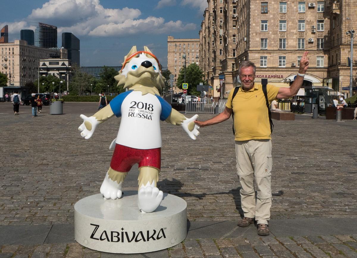 FIFA 2018 Voiton aukio Moskova