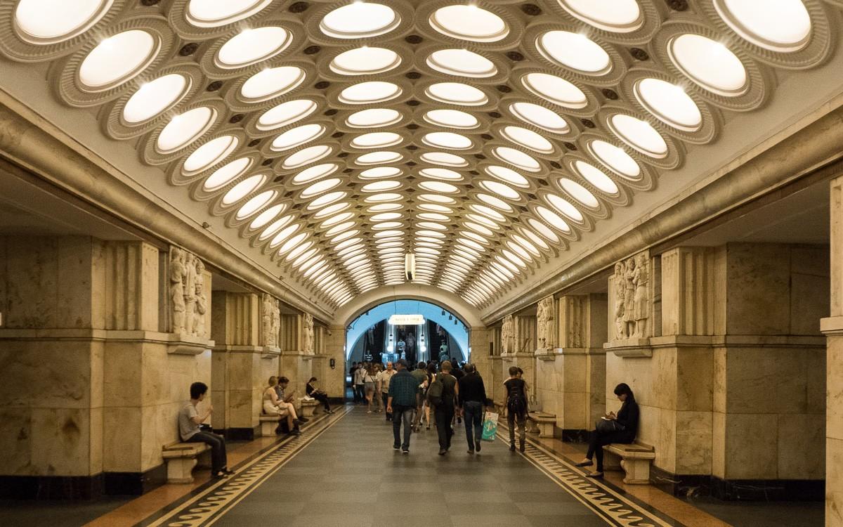 Moscow metro Elektrozavodskaya
