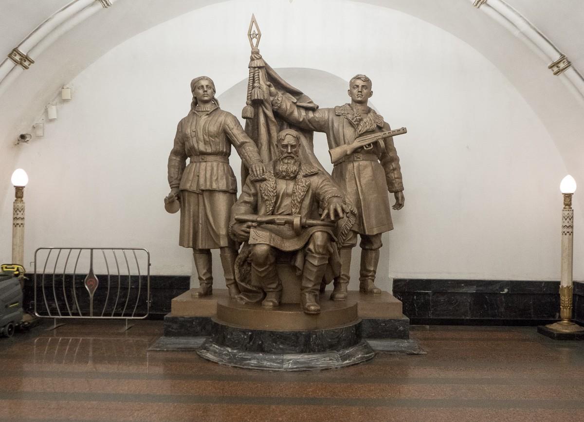 Moscow metro Belorusskaya