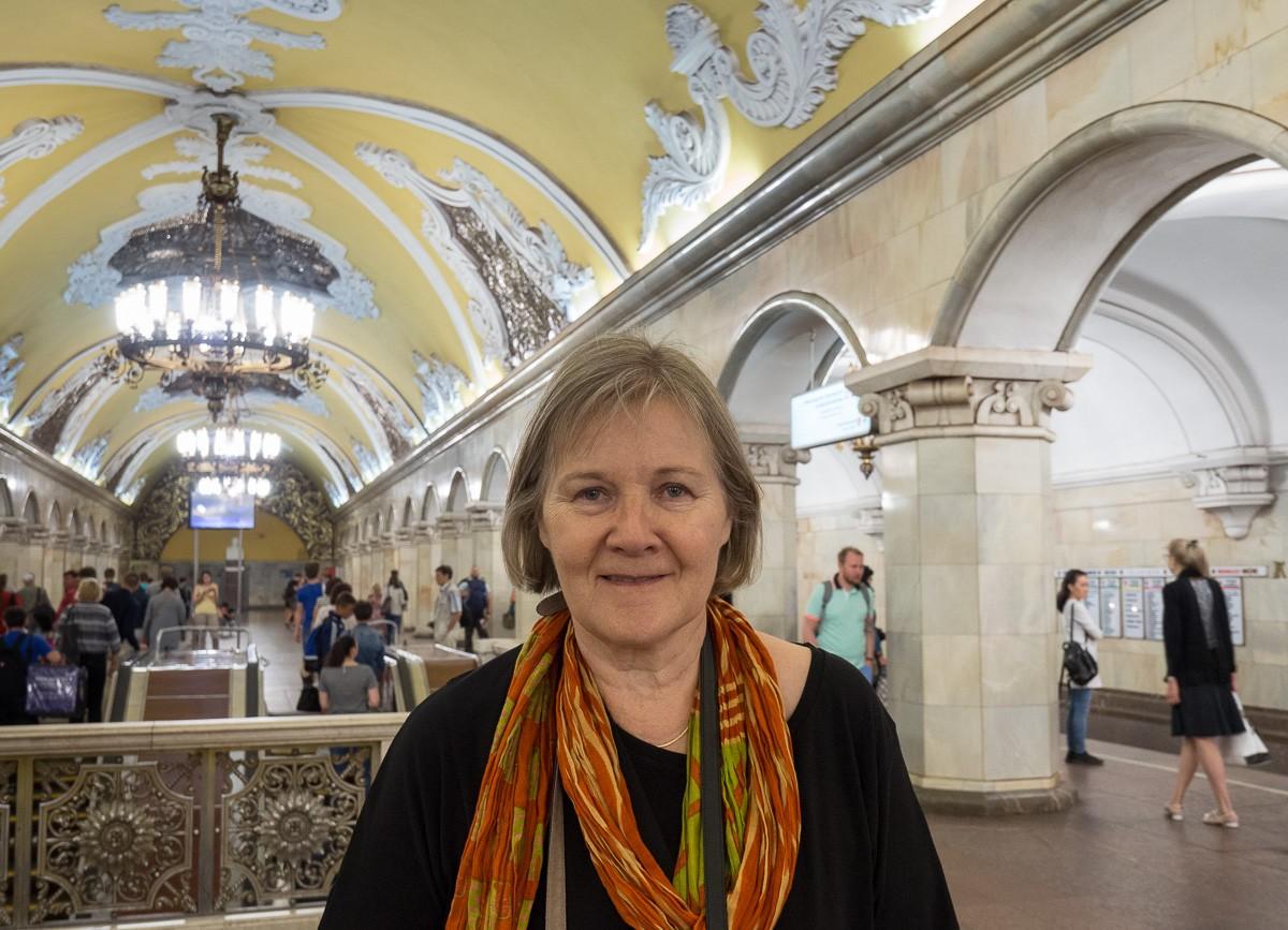 Moscow metro Komsomolskaya