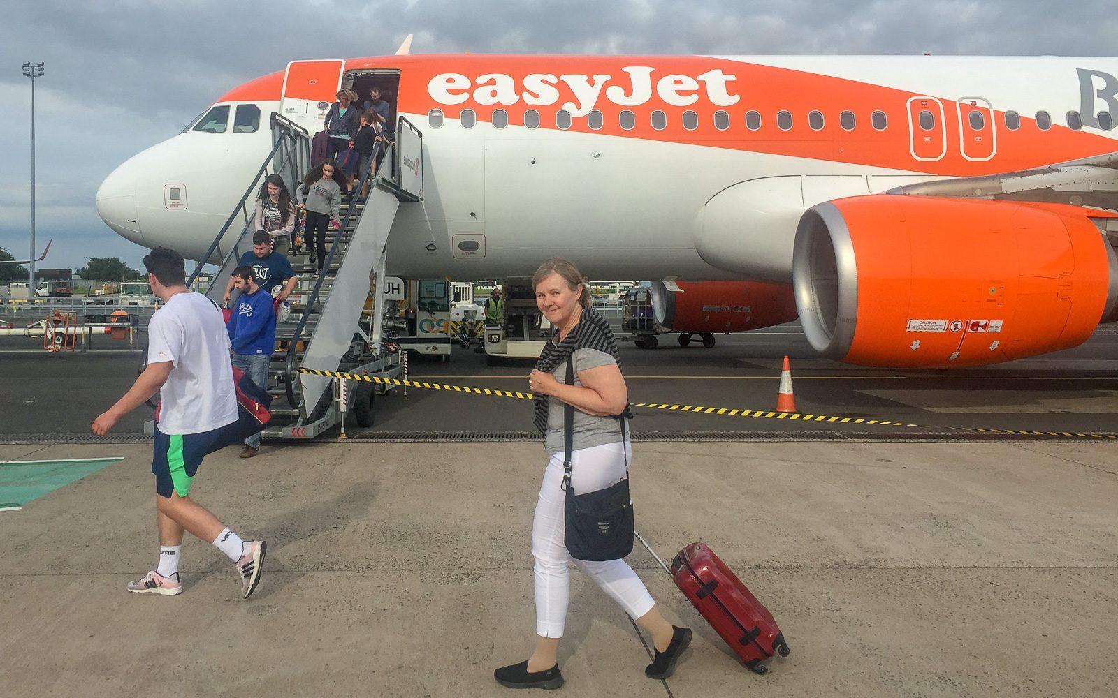 Easyjet Belfast