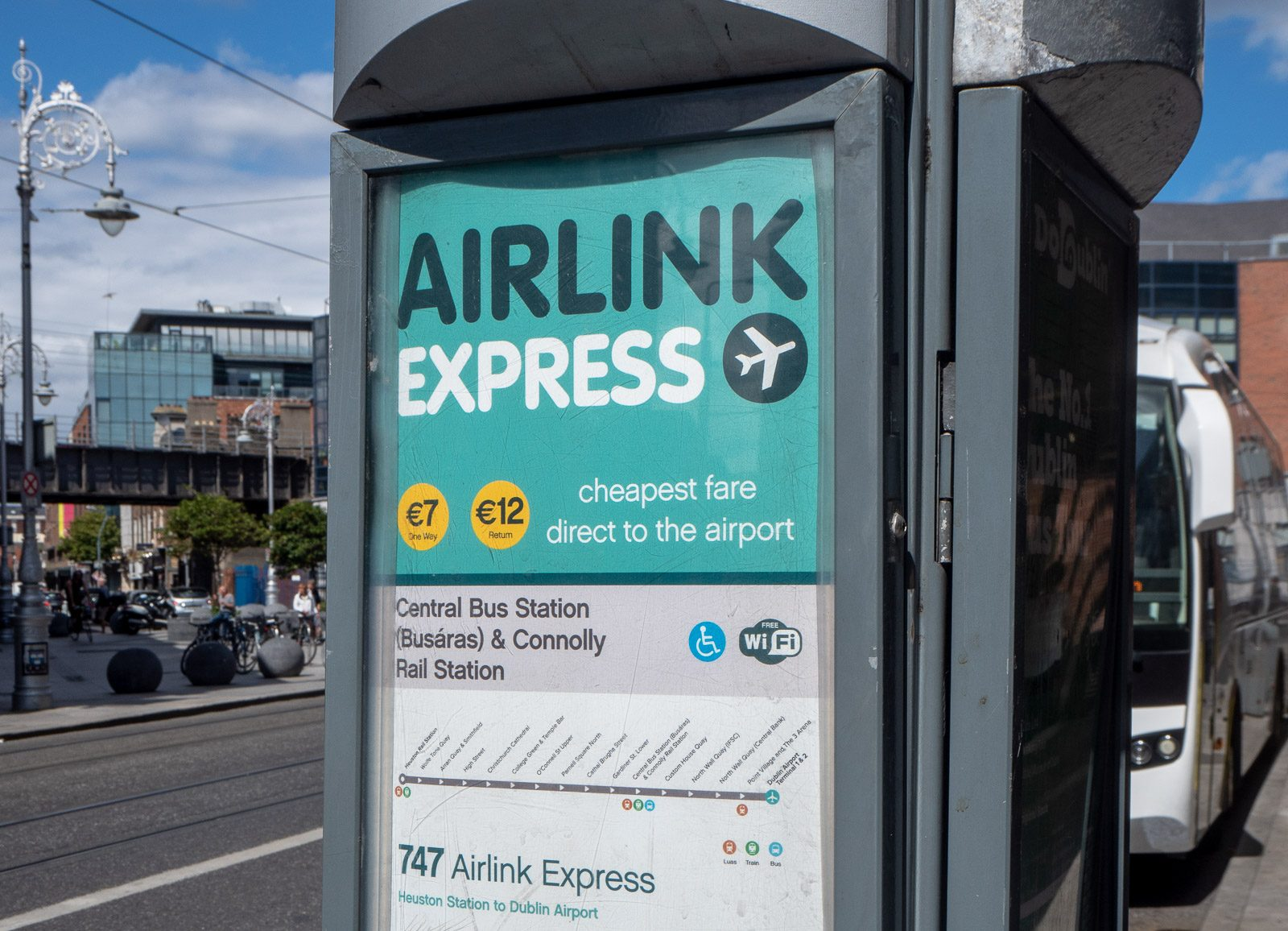Airlink Express Dublin Skotlanti, Belfast, Dublin kustannukset