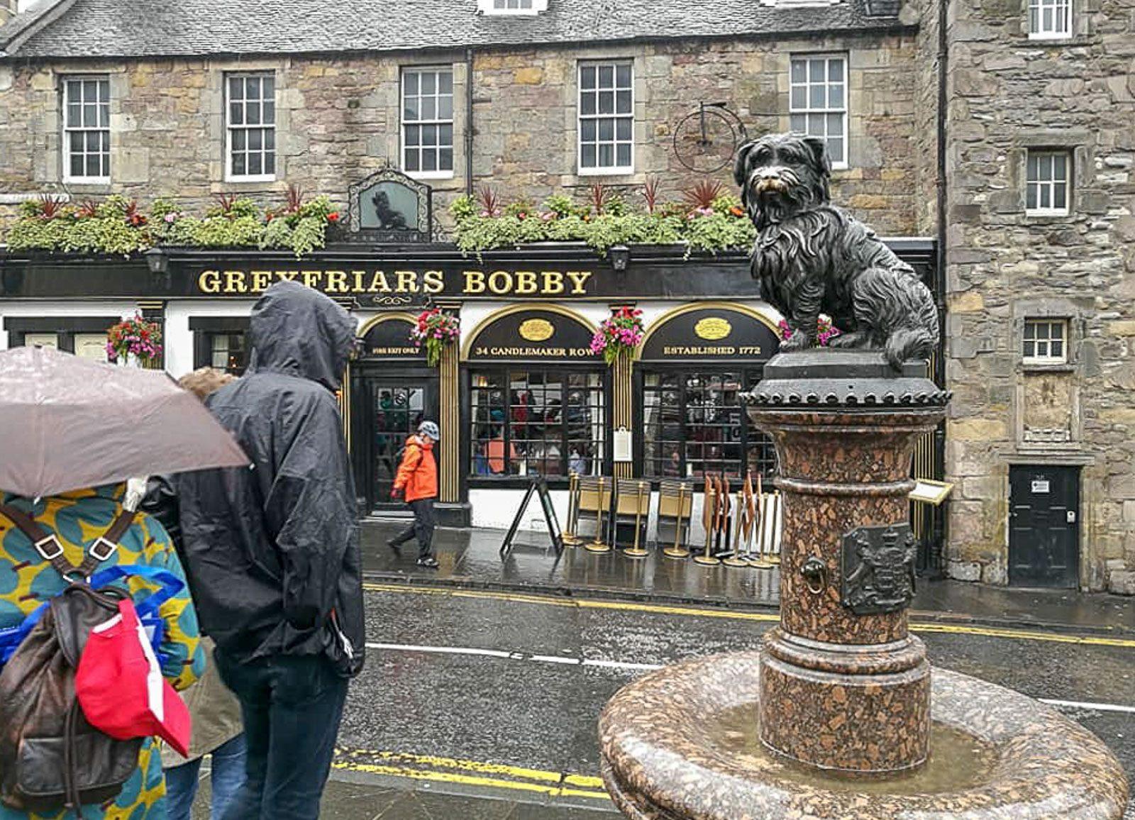Bobby-koira Edinburgh