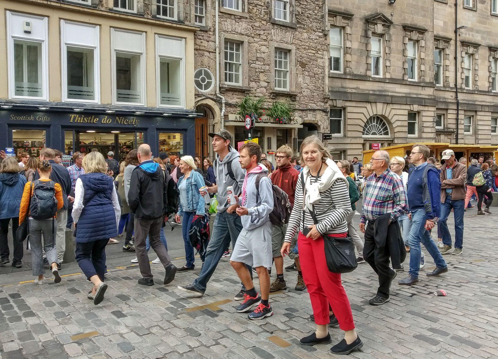 Edinburgh The Royal Mile