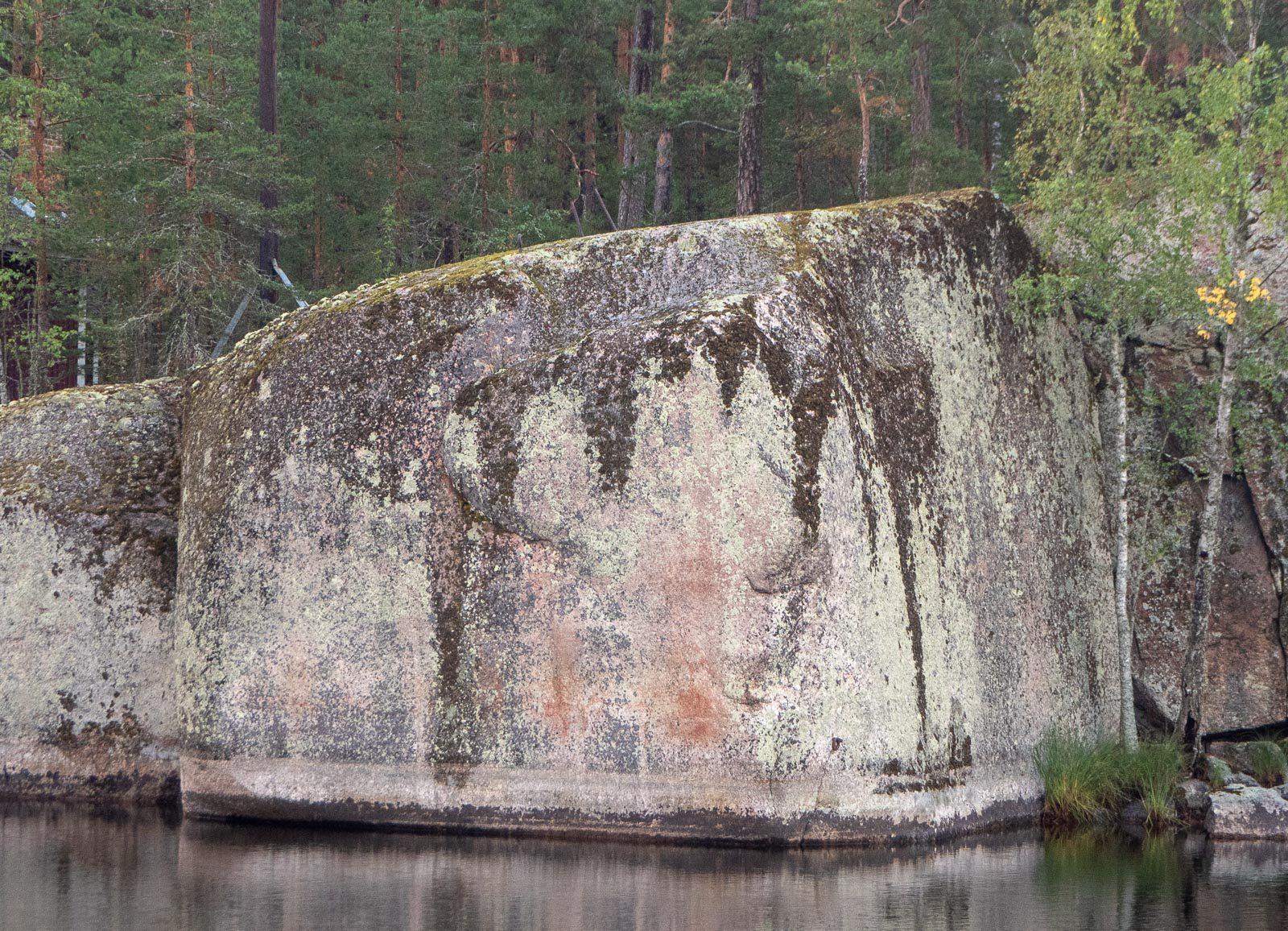 Esihistorialliset kalliopiirrokset Verla
