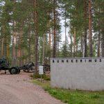 Juoksuhaudoissa ja bunkkereissa