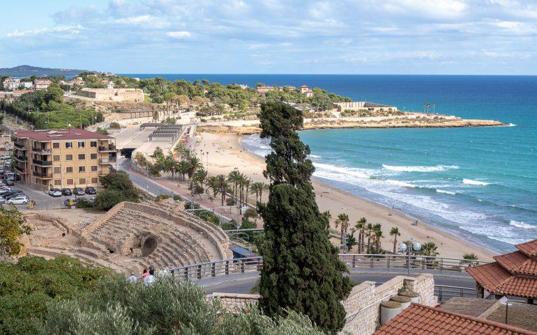 Tarragona Katalonian Unescon maailmanperintökohteita