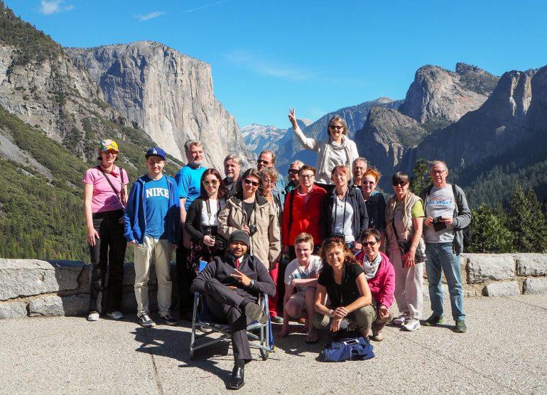 Yosemite - Monimuotoinen matkailu