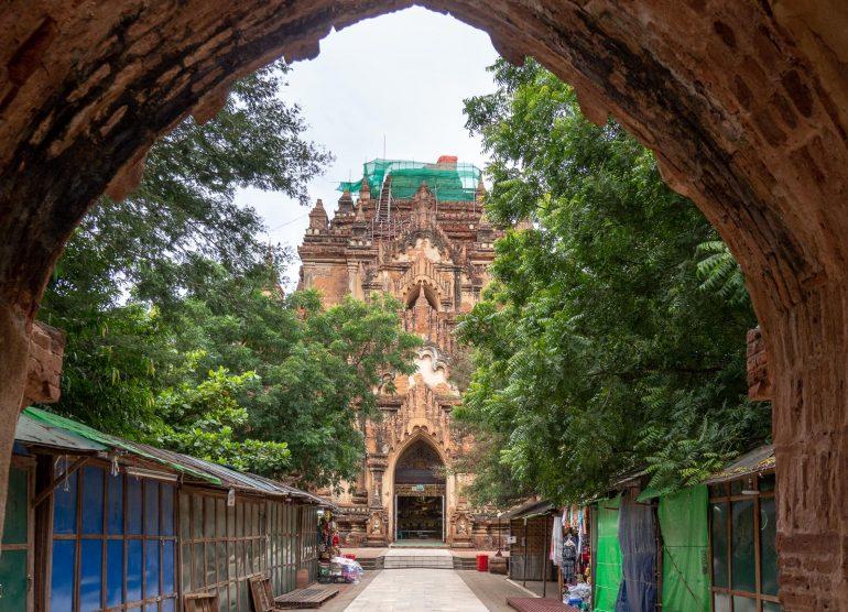 Htilominlo Bagan Myanmar Baganin tuhannet temppelit