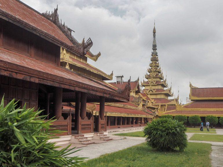 Palatsialue Mandalay
