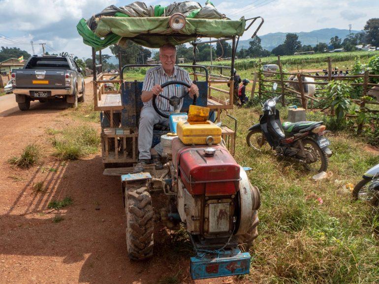 Heho markkinat Myanmar